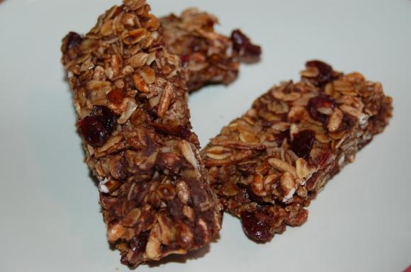 Chewy Gooey Granola Bars