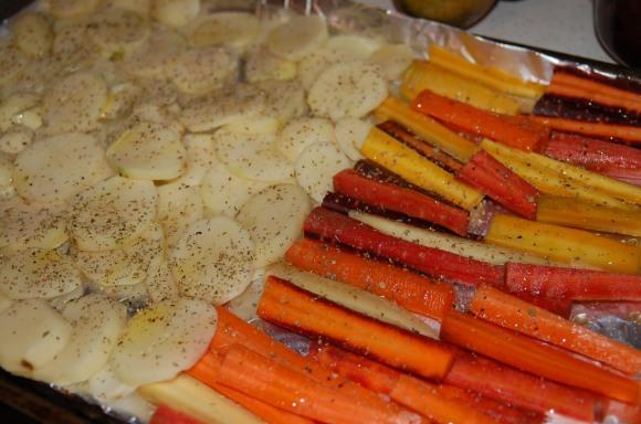 Mmmm...veggies.