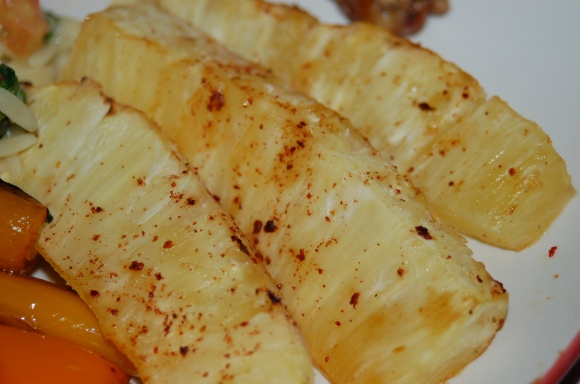 Chili Roasted Pineapple